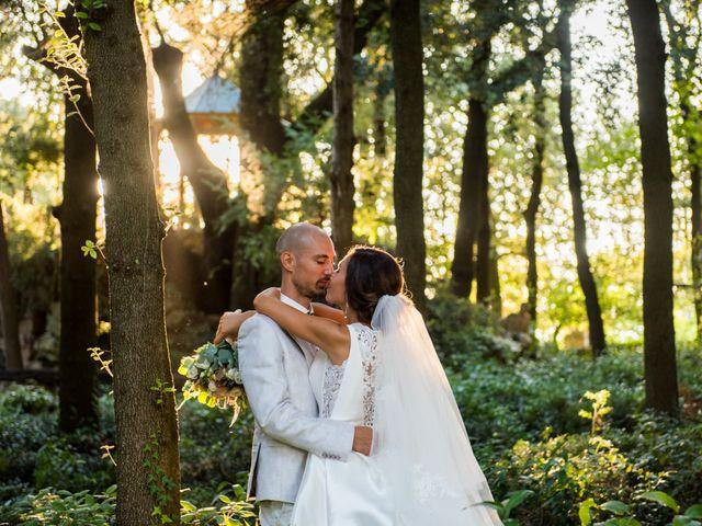 Il matrimonio di Nicola e Elena a Montefano, Macerata 87