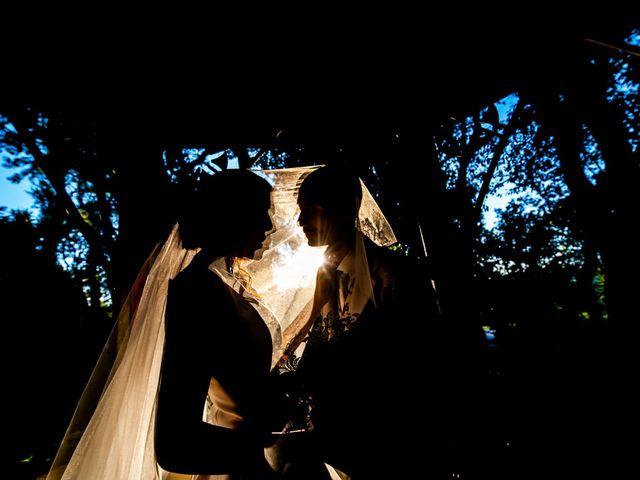 Il matrimonio di Nicola e Elena a Montefano, Macerata 90
