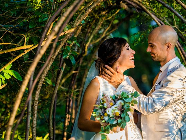 Il matrimonio di Nicola e Elena a Montefano, Macerata 96