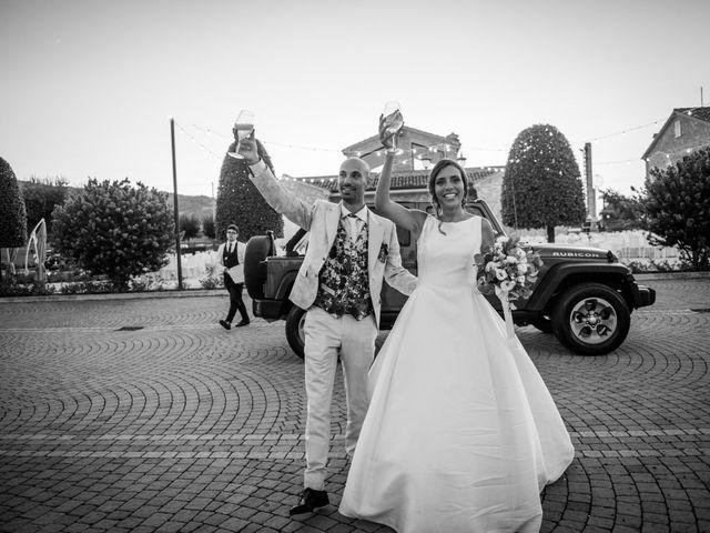 Il matrimonio di Nicola e Elena a Montefano, Macerata 102