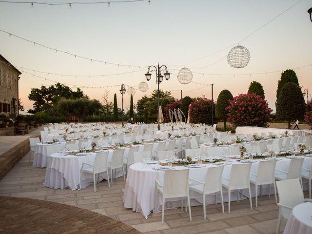 Il matrimonio di Nicola e Elena a Montefano, Macerata 105