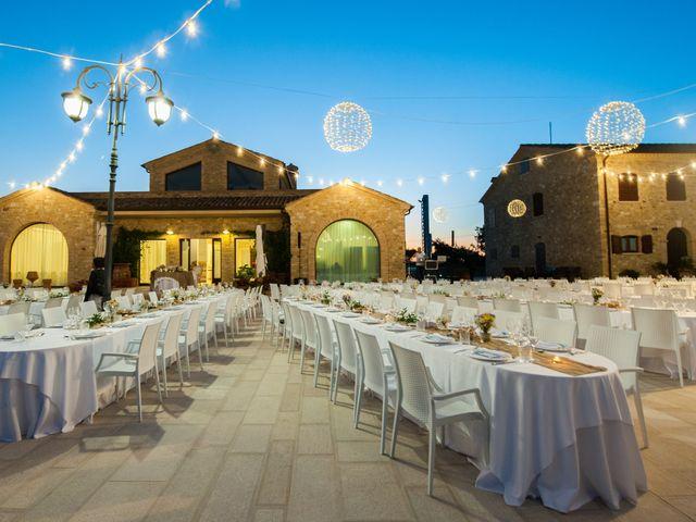 Il matrimonio di Nicola e Elena a Montefano, Macerata 110