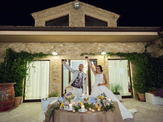 Il matrimonio di Nicola e Elena a Montefano, Macerata 125