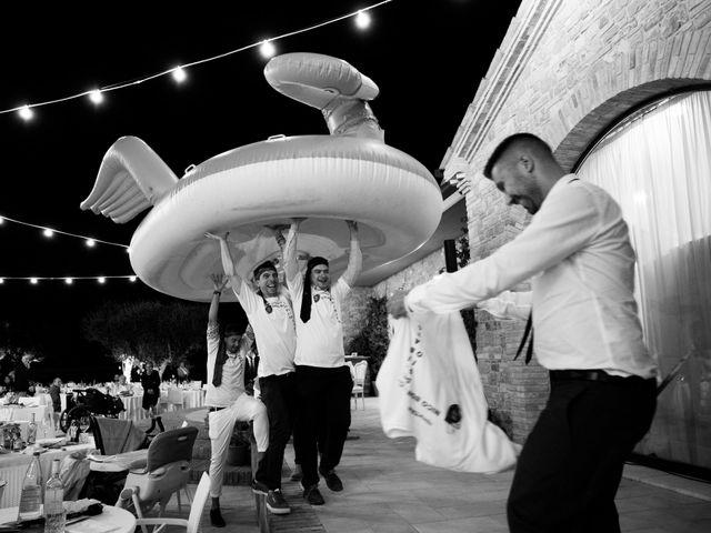 Il matrimonio di Nicola e Elena a Montefano, Macerata 155