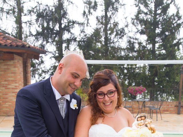 Il matrimonio di Francesco e Marianna a Cocconato, Asti 25
