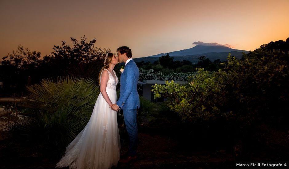 Il matrimonio di Eric e Hannah a Taormina, Messina