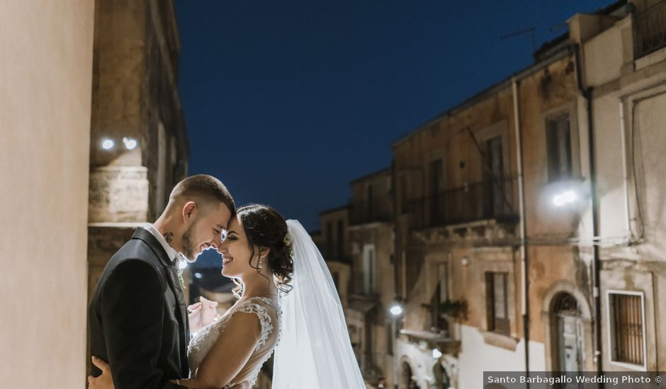 Il matrimonio di Denise e Vito a Ramacca, Catania