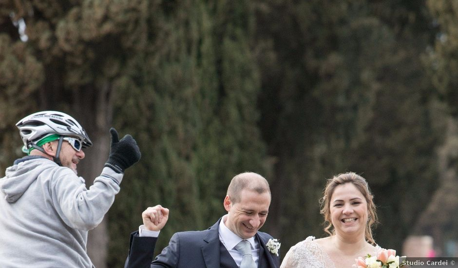 Il matrimonio di Andrea e Roberta a Roma, Roma