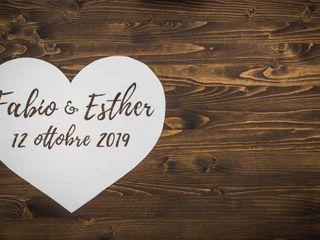 Le nozze di Eshter e Fabio 1