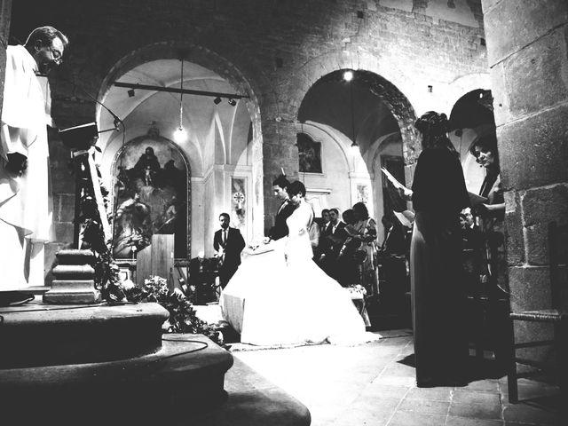 Il matrimonio di Tommaso e Elena a Carmignano, Prato 23