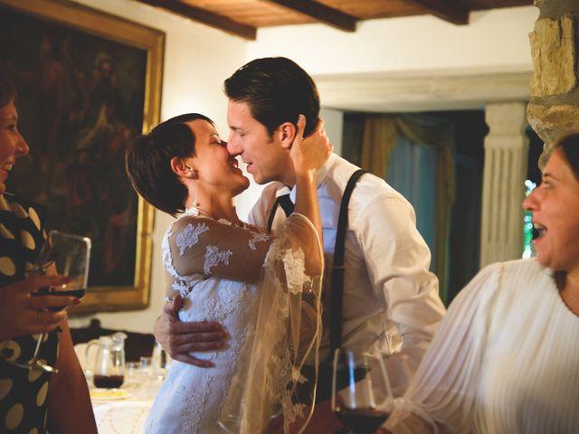 Il matrimonio di Tommaso e Elena a Carmignano, Prato 45
