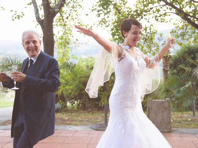 Il matrimonio di Tommaso e Elena a Carmignano, Prato 49