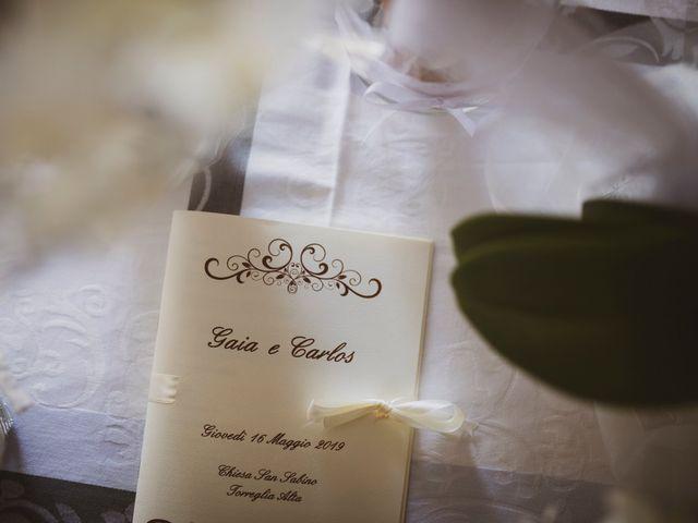 Il matrimonio di Carlos e Gaia a Torreglia, Padova 2