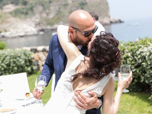 Il matrimonio di Sergio  e Tiziana a Taormina, Messina 12