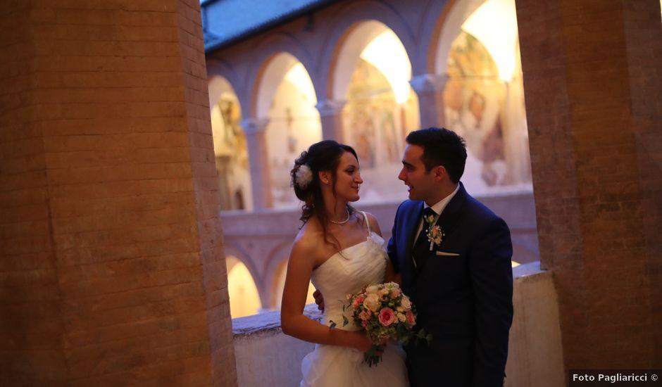 Il matrimonio di Stefano e Beatrice a Spoleto, Perugia