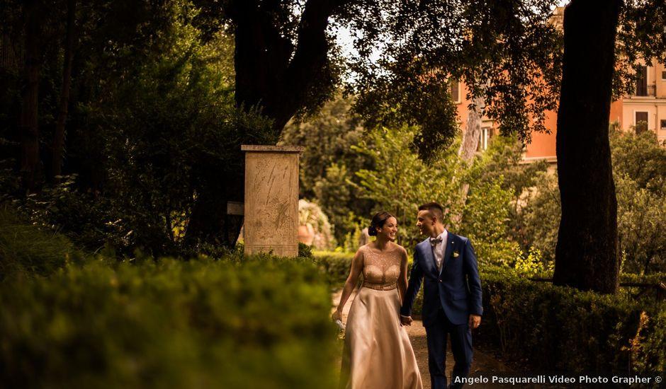 Il matrimonio di Manuel e Martina a Monterotondo, Roma