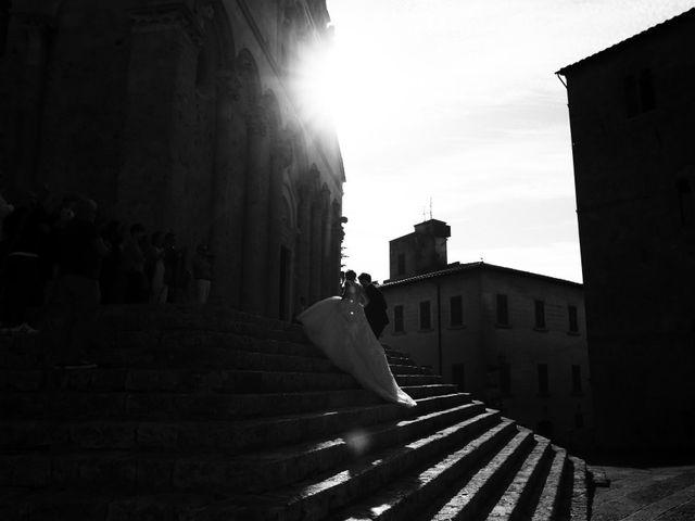 Il matrimonio di Vincenzo e Benedetta a Massa Marittima, Grosseto 35