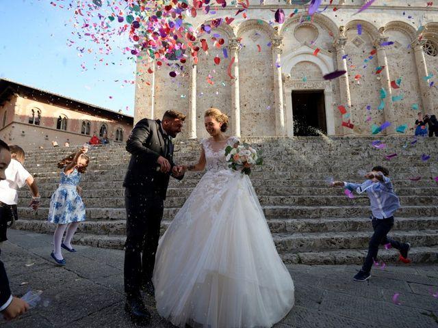 Il matrimonio di Vincenzo e Benedetta a Massa Marittima, Grosseto 52