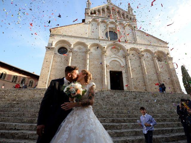 Il matrimonio di Vincenzo e Benedetta a Massa Marittima, Grosseto 53