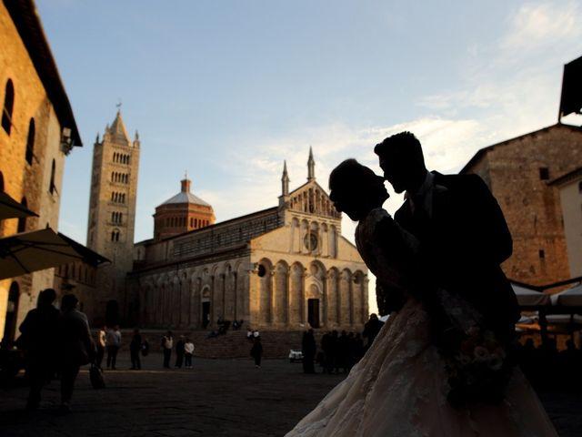 Il matrimonio di Vincenzo e Benedetta a Massa Marittima, Grosseto 1