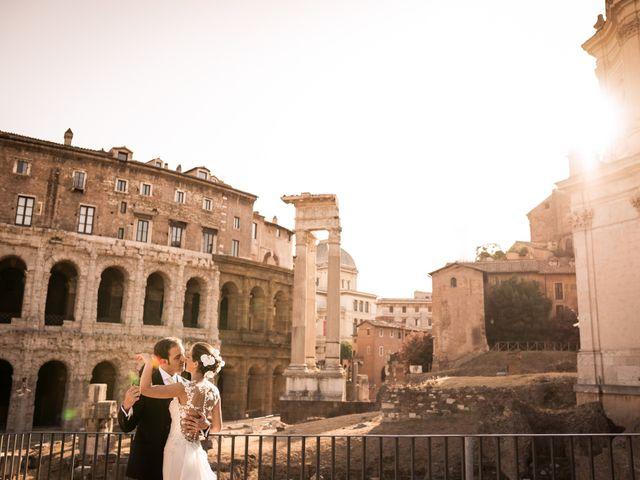 Il matrimonio di Remo e Giulia a Roma, Roma 1