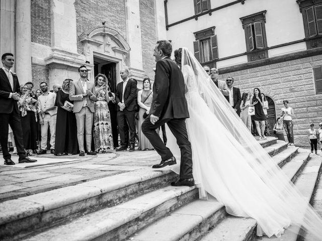 Il matrimonio di Fabrizio e Monica a Fabriano, Ancona 47