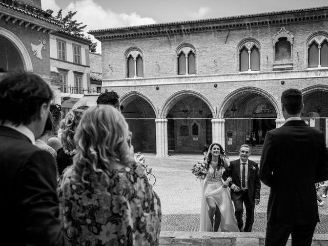 Il matrimonio di Fabrizio e Monica a Fabriano, Ancona 49