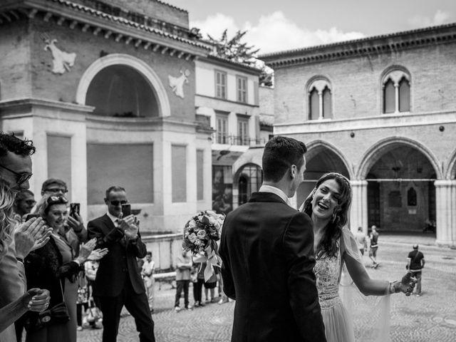Il matrimonio di Fabrizio e Monica a Fabriano, Ancona 51