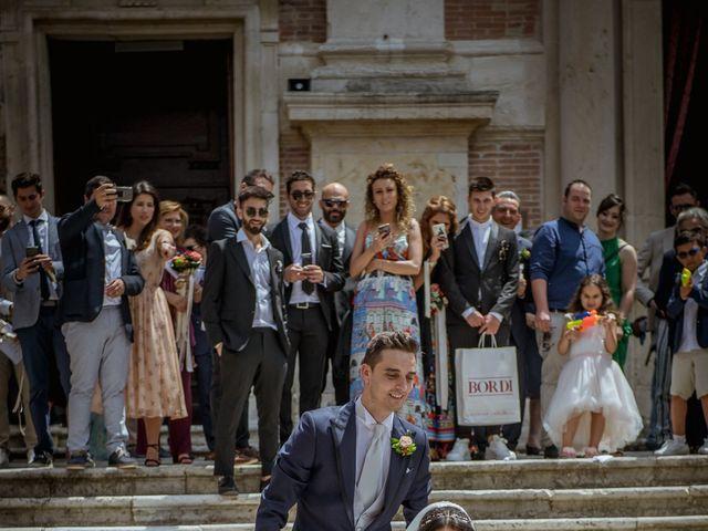 Il matrimonio di Fabrizio e Monica a Fabriano, Ancona 73