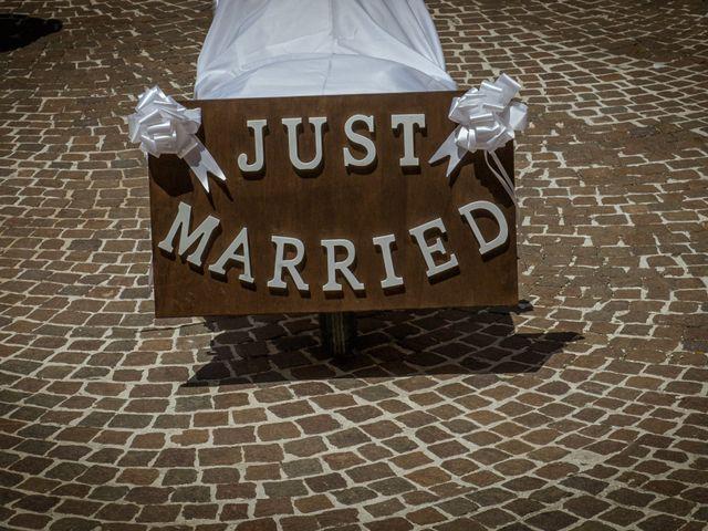 Il matrimonio di Fabrizio e Monica a Fabriano, Ancona 74