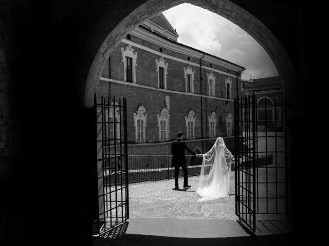 Il matrimonio di Fabrizio e Monica a Fabriano, Ancona 80