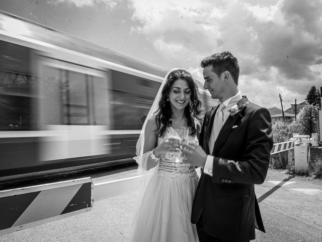 Il matrimonio di Fabrizio e Monica a Fabriano, Ancona 82