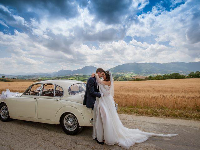 Il matrimonio di Fabrizio e Monica a Fabriano, Ancona 84