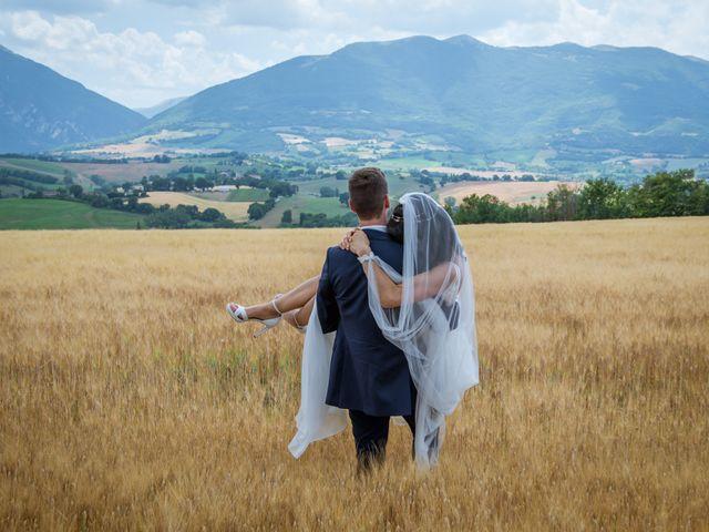 Il matrimonio di Fabrizio e Monica a Fabriano, Ancona 86