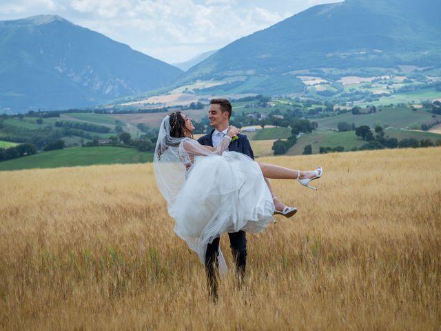 Il matrimonio di Fabrizio e Monica a Fabriano, Ancona 87