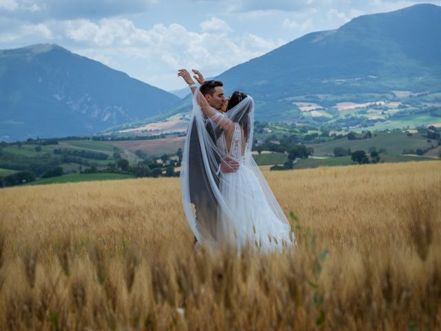 Le nozze di Monica e Fabrizio
