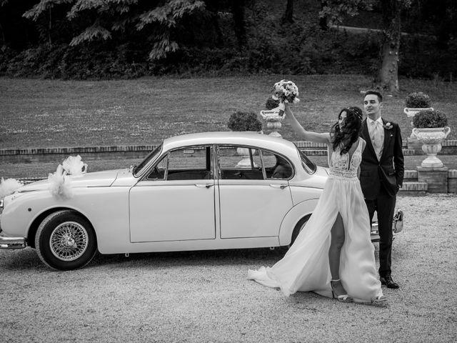 Il matrimonio di Fabrizio e Monica a Fabriano, Ancona 96