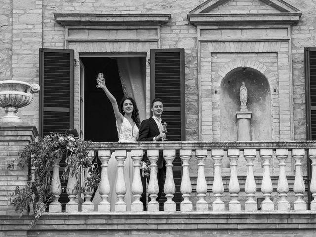 Il matrimonio di Fabrizio e Monica a Fabriano, Ancona 102
