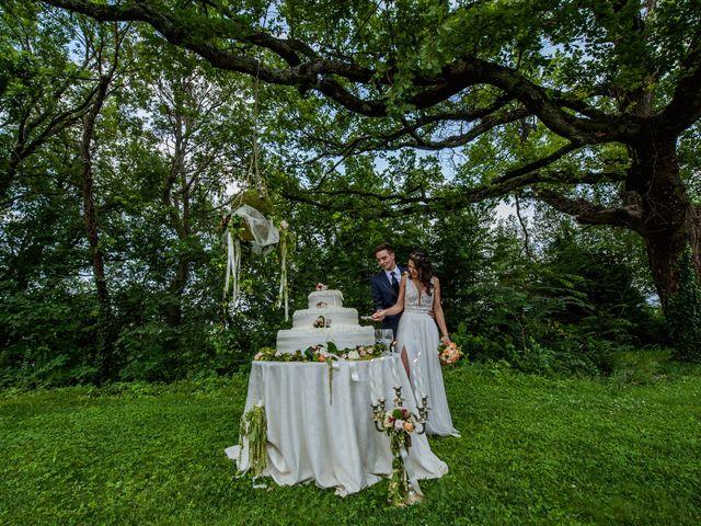 Il matrimonio di Fabrizio e Monica a Fabriano, Ancona 124