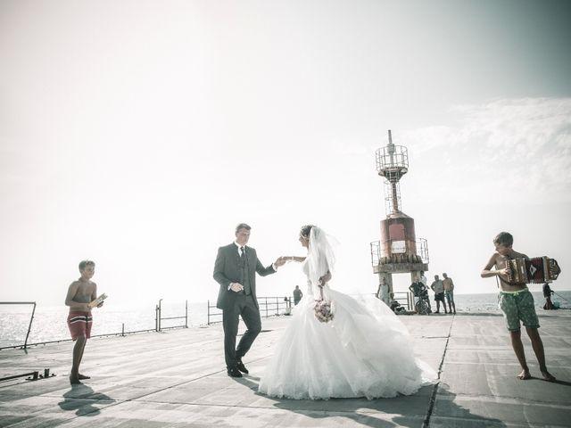 le nozze di Sara e Eric