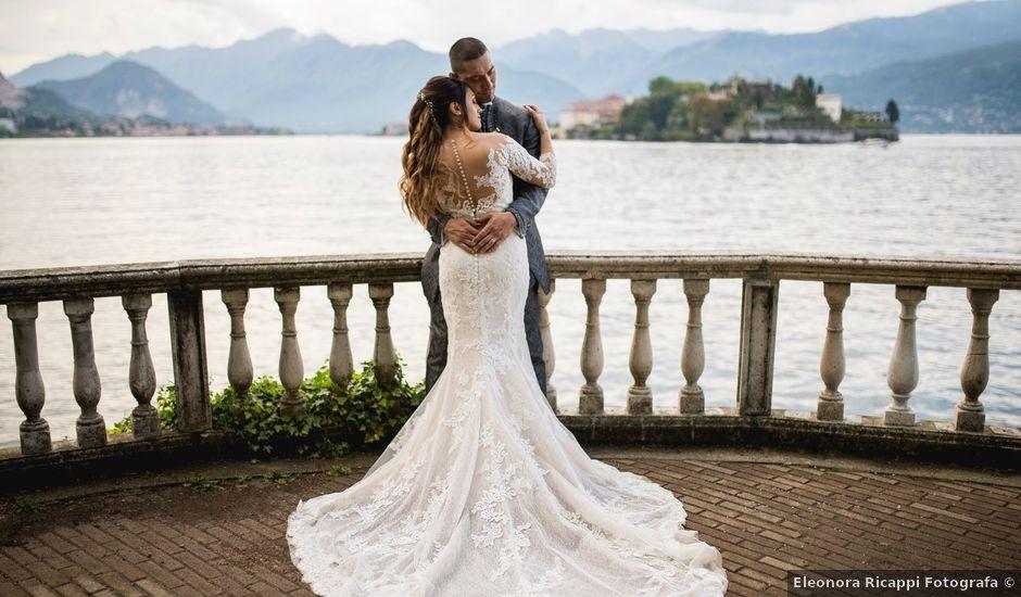 Il matrimonio di Cristiano e Jessica a Stresa, Verbania