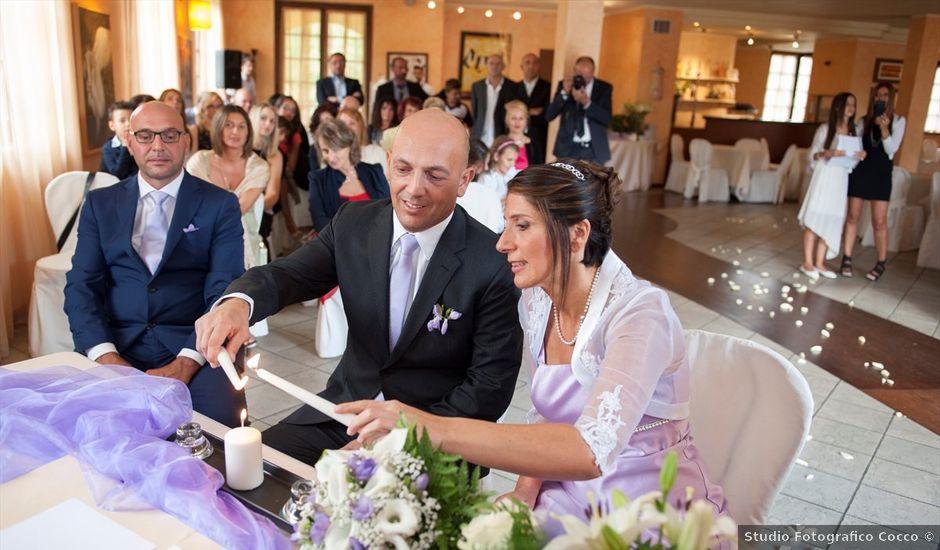 Il matrimonio di Aurelio e Enza a Bregnano, Como