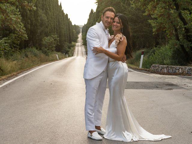 Il matrimonio di Daniele e Ornella a Castagneto Carducci, Livorno 50