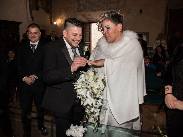 Il matrimonio di Marco e Elisabetta a Guidonia Montecelio, Roma 16