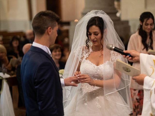 Il matrimonio di Stefano e Silvia a Ozzero, Milano 12