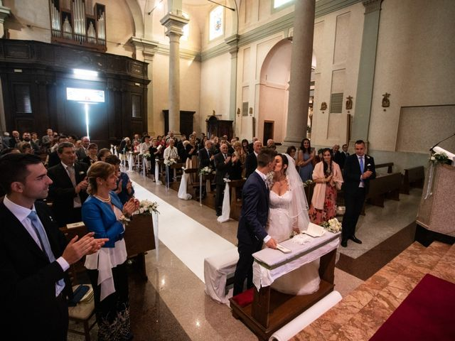 Il matrimonio di Stefano e Silvia a Ozzero, Milano 13