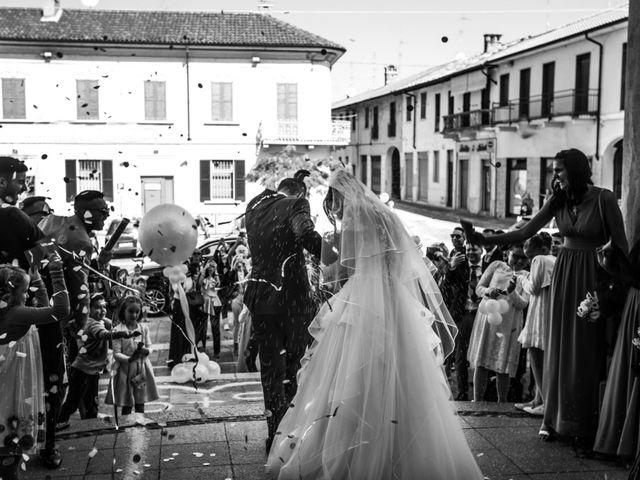 Il matrimonio di Stefano e Silvia a Ozzero, Milano 15