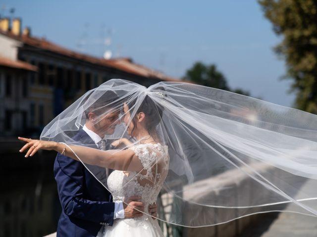 Il matrimonio di Stefano e Silvia a Ozzero, Milano 17
