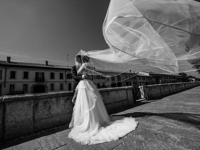 Il matrimonio di Stefano e Silvia a Ozzero, Milano 18