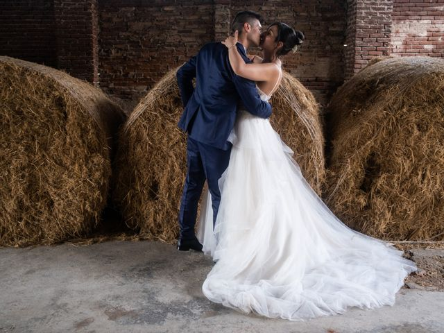 Il matrimonio di Stefano e Silvia a Ozzero, Milano 20